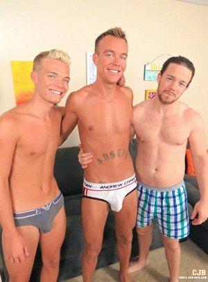 Cute Gay Nick Decker,Ryan Ashland,Jay Thomas,