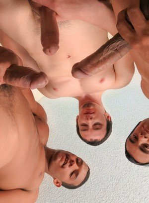 Good Looking Guy Alex Drake,Trent Jackson,Luis Strike,
