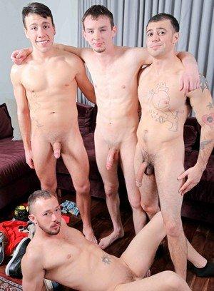 Cocky Boy Trent Jackson,Kirk Cummings,Blake Stone,Jake Jammer,