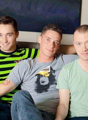 Hot Gay Sean Christian,Aiden Conners,Tyler Morgan,