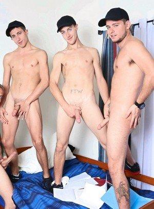Naked Gay Leo Carden,Bobby Hudson,Shane Jacobs,Aj Monroe,