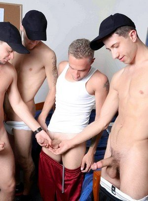 Seductive Man Leo Carden,Bobby Hudson,Shane Jacobs,Aj Monroe,
