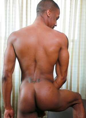 Muscle man Tyce Jax,