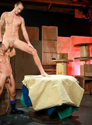 Naked Gay Armond Rizzo,Byron Saint,