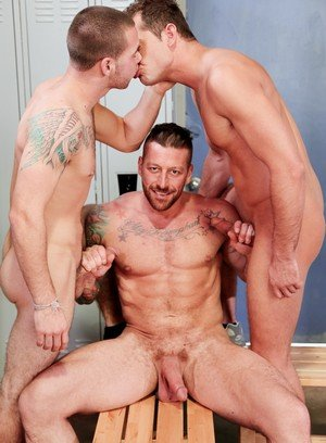 Wild Gay Dimitri Kane,Hugh Hunter,Luke Milan,