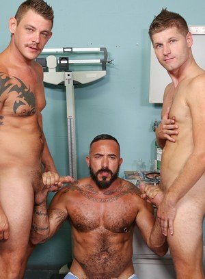 Sexy and confident Alessio Romero,Jace Chambers,Peter Fields,