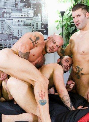 Sporty Hunk Sean Duran,Fernando Del Rio,Caleb Troy,
