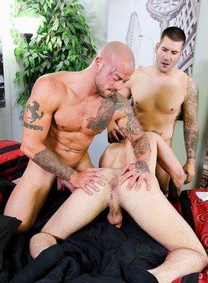 Sexy and confident Sean Duran,Fernando Del Rio,Caleb Troy,