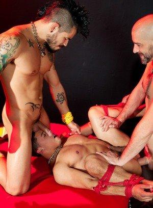 Hot Boy Draven Torres,Tony Buff,Armond Rizzo,