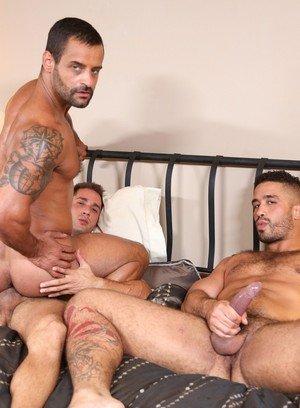 Horny Gay Armando De Armas,Trey Turner,David Benjamin,