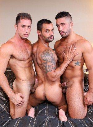 Big Dicked Gay Armando De Armas,Trey Turner,David Benjamin,