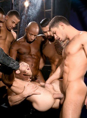 Sexy and confident Race Cooper,Shawn Wolfe,Boomer Banks,Trelino,Tyson Tyler,