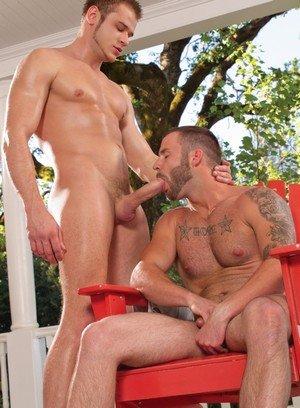 Naked Gay Chris Bines,Nikko Russo,