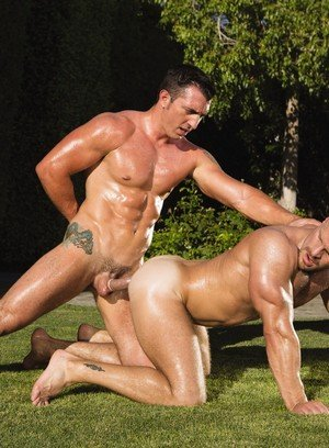 Sporty Hunk Landon Conrad,Jimmy Durano,