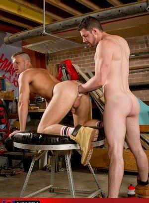 Hunky Gay Andrew Stark,Brian Bonds,