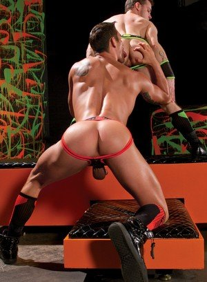 Sexy and confident Ryan Rose,Colton Grey,