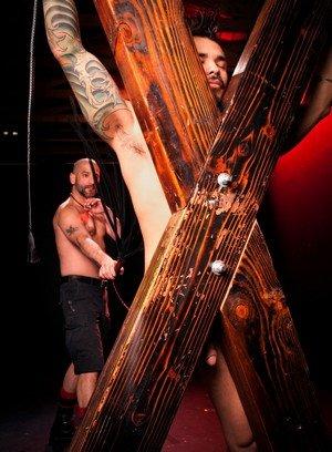 Naked Gay Draven Torres,Tony Buff,