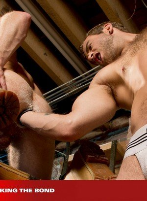 Sexy and confident Brian Bonds,Shawn Wolfe,