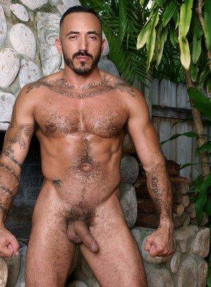 Sexy and confident Alessio Romero,