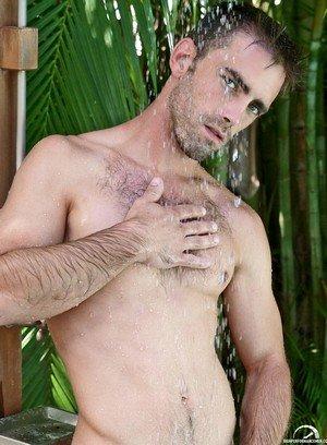 Muscle man Joe Parker,