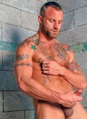 Sexy and confident Derek Parker,