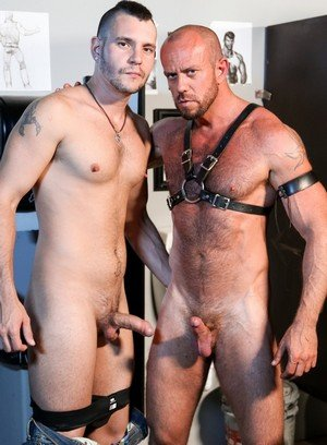 Sexy and confident Matt Stevens,Bradley Boyd,
