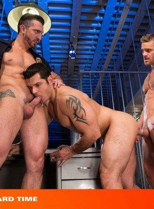 Sexy and confident Jimmy Durano,Landon Conrad,Marcus Ruhl,