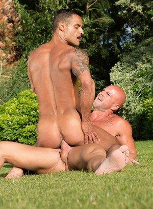 Sporty Hunk Mitch Vaughn,David Benjamin,