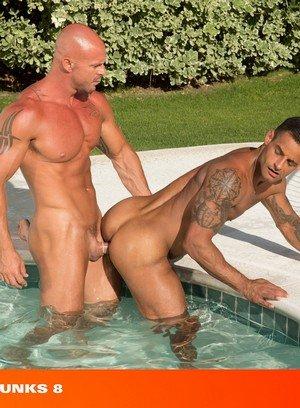 Sexy and confident Mitch Vaughn,David Benjamin,