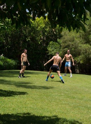Hot Guy Brandon Jones,Dylan Knight,Mike De Marko,