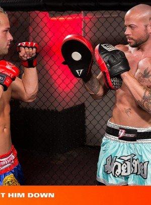Muscle man Sean Duran,Luke Adams,