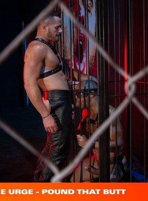 Muscle man Valentin Petrov,Sean Zevran,