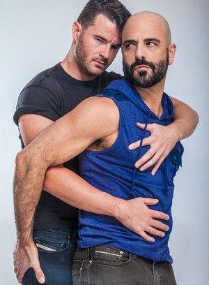 Hunky Gay Adam Russo,Brendan Patrick,