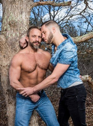 Hot Gay Wolf Hudson,Dirk Caber,