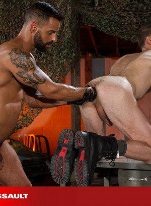 Naked Gay Christian Lesage,David Benjamin,