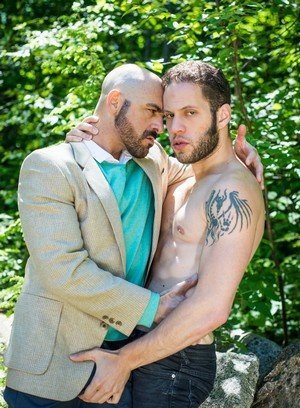 Hunky Gay Wolf Hudson,Adam Russo,