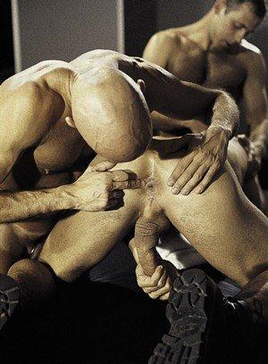 Sporty Hunk Sebastian Gronoff,Marcus Iron,Addison Scott,