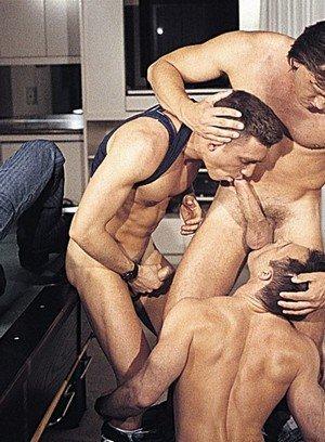 Cute Gay Luc Jarrett,Tristan Paris,Trace Henson,Robert Black,