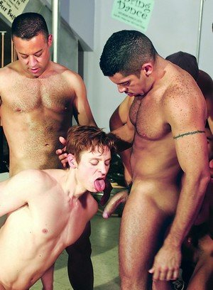 Hot Guy Rocky Castro,Josh Weston,Jonathan Diaz,Nick Thomas,Vin Nolan,