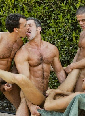 Hunky Gay Jerek,Aaron Parker,Colton Ford,Travis Reed,