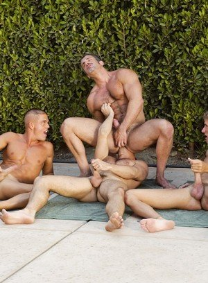 Sexy Guy Jerek,Aaron Parker,Colton Ford,Travis Reed,