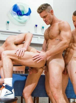 Hot Lover Landon Conrad,Luca Rosso,Liam Rosso,