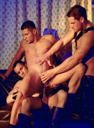 Sporty Hunk Jose Ganatti,Rogerio Mateo,Solten Talton,
