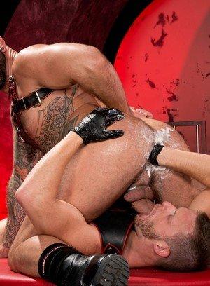 Muscle man Brian Bonds,Drew Sebastian,