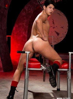 Cute Gay Adrian Alvarez,Dylan Strokes,