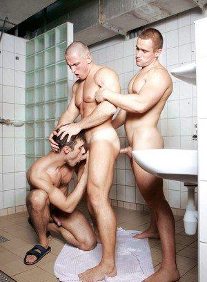 Cute Gay Enrigue Gardinelli,Akos Schiff,Percy Kirk,