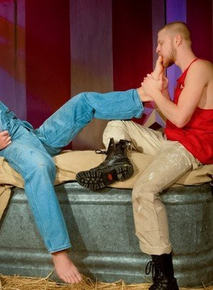 Big Dicked Gay Logan Stevens,Preston Steel,