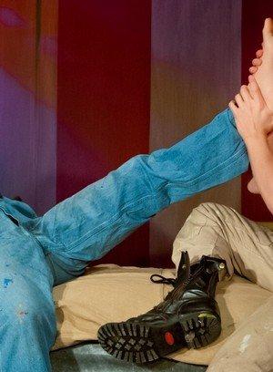 Cute Gay Preston Steel,Logan Stevens,