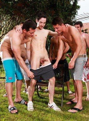Big Dicked Gay Gery Rake,Nick Daniels,Luke Taylor,Nick Gill,Enzo Bloom,