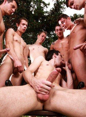 Handsome Guy Gery Rake,Nick Daniels,Luke Taylor,Nick Gill,Enzo Bloom,